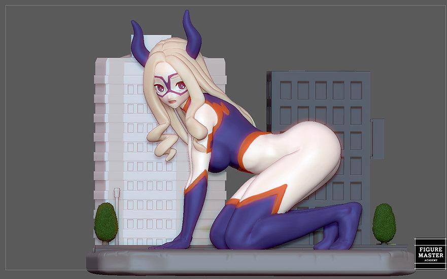 MT. LADY MY HERO ACADEMIA ANIME CHARACTER SEXY CUTE GIRL 3D PRINT