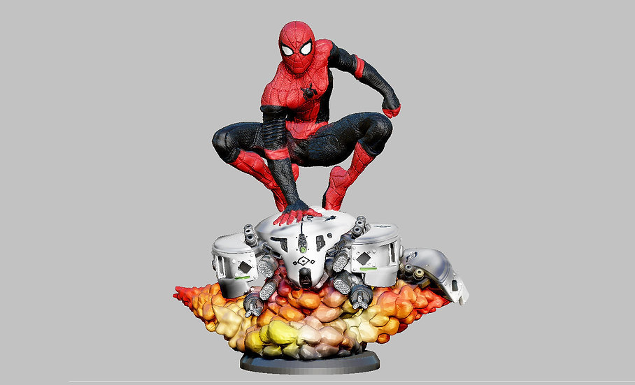 SPIDERMAN UPGRADE SUIT DRONE PACK FAR FROM HOME MARVEL CHARACTER 3D PRINT STL FI