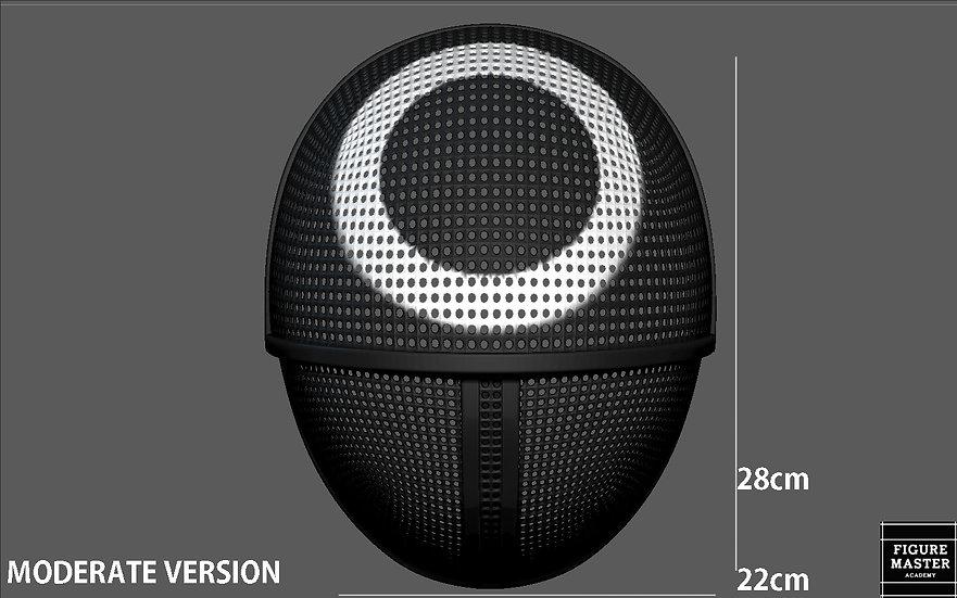 SQUID GAME MASK VER3 COSPLAY PROPS REPLICA NETFLIX 3D PRINT