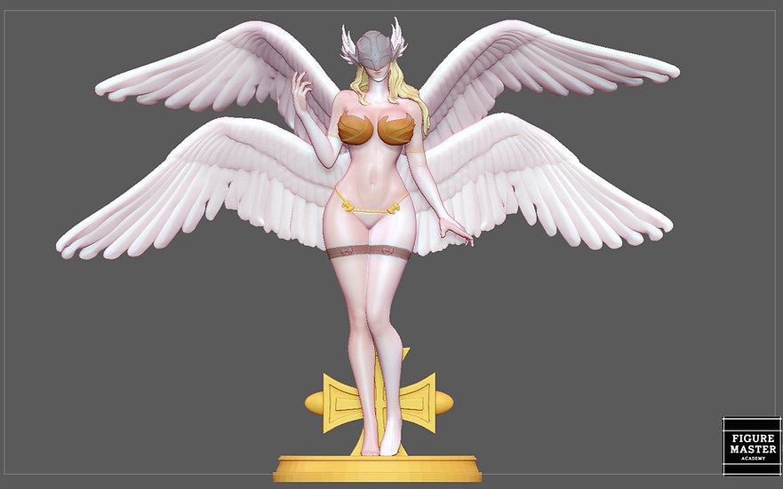 ANGEWOMON 2 DIGIMON SEXY GIRL PRETTY ANGEL CHARACTER ANIME 3D PRINT