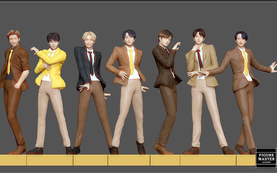 BTS PACK POP KOREAN IDOL BIG HIT K-POP BOY GROUP butter dynamite 3D PRI