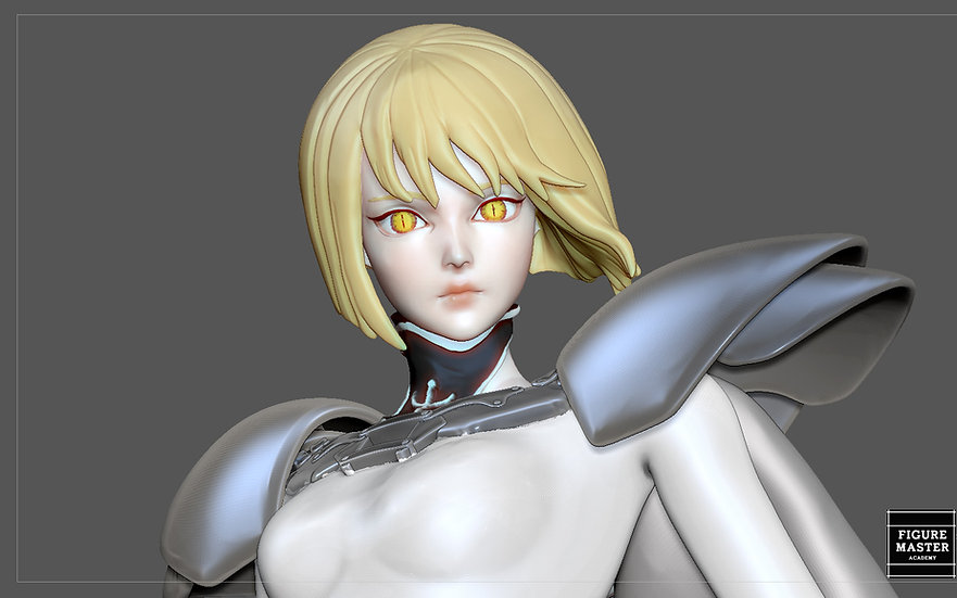 CLAYMORE CLARE FANTASY ANIME SEXY GIRL WOMAN ANIME CHARACTER