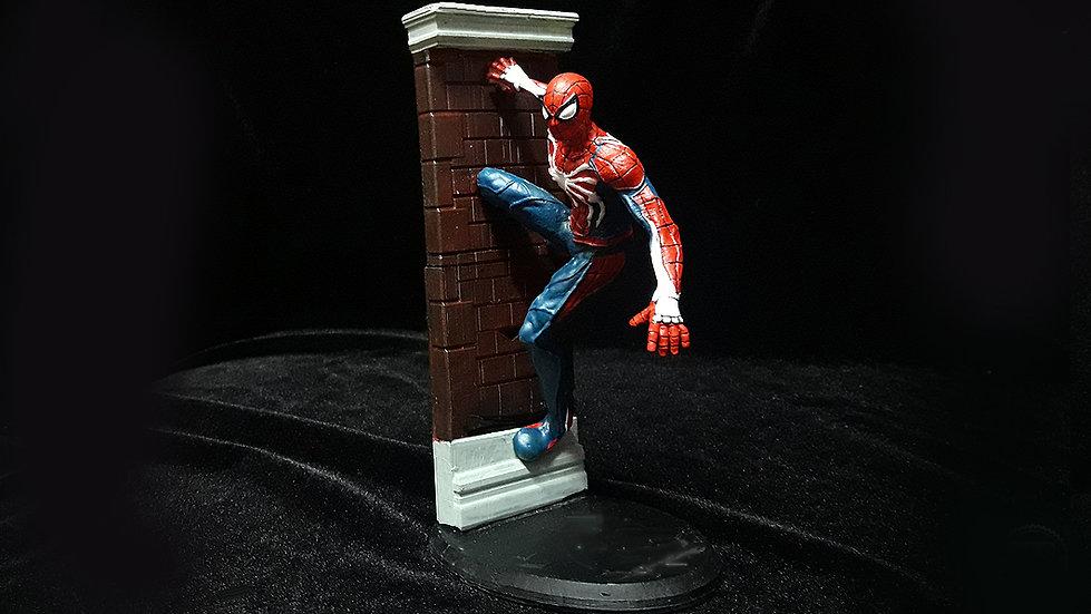 SPIDERMAN PS4 ADVANCE SUIT CHARACTER 3D PRINT STL