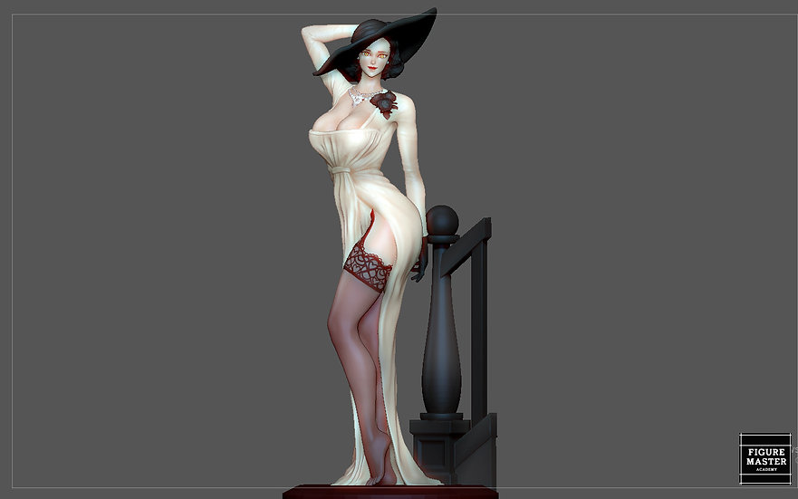 DIMITRESCU LADY RESIDENT EVIL 8 VILLAGE GAME CHARACTER SEXY GIRL