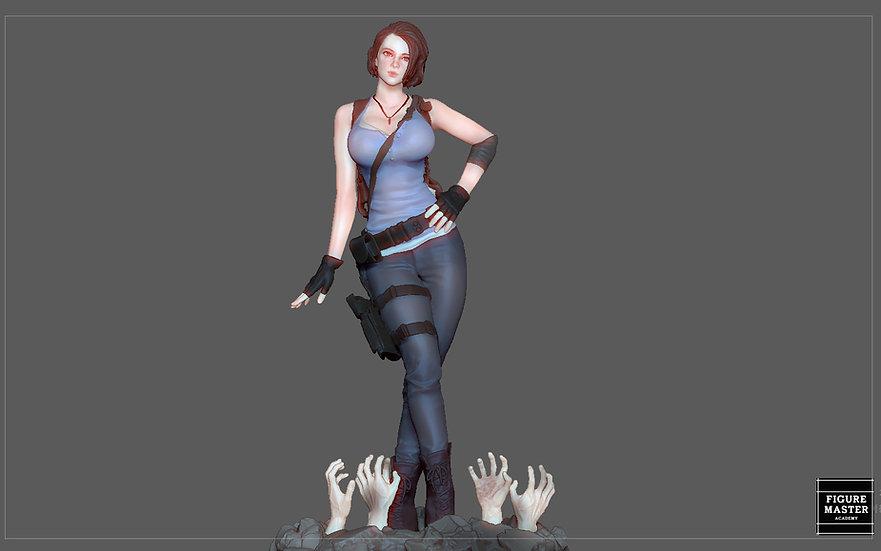 JILL VALENTINE RESIDENT EVIL PRETTY GIRL GAME ANIME CHARACTER