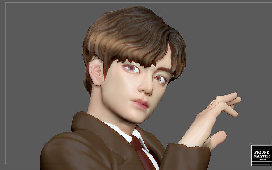 BTS V - K POP KOREAN IDOL BIG HIT K-POP BOY GROUP butter dynamite 3D PRINT