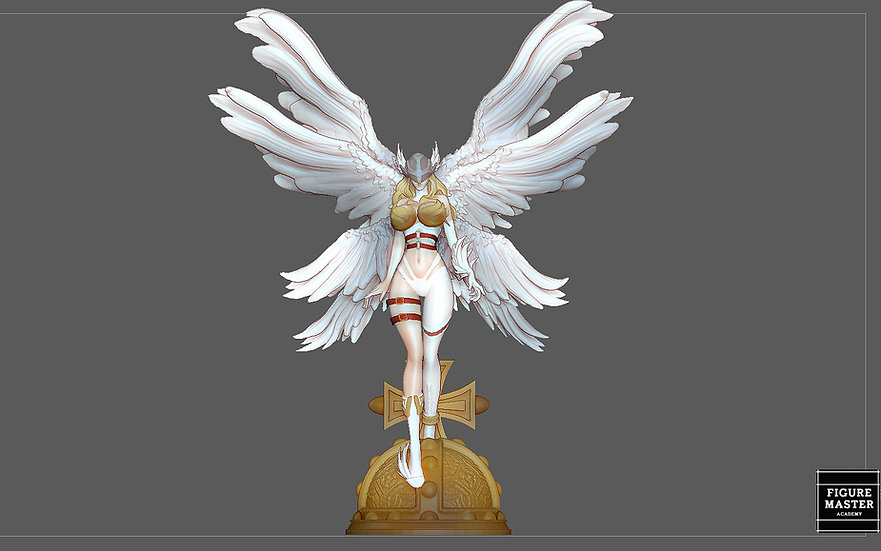 ANGEWOMON DIGIMON SEXY GIRL PRETTY ANGEL CHARACTER ANIME