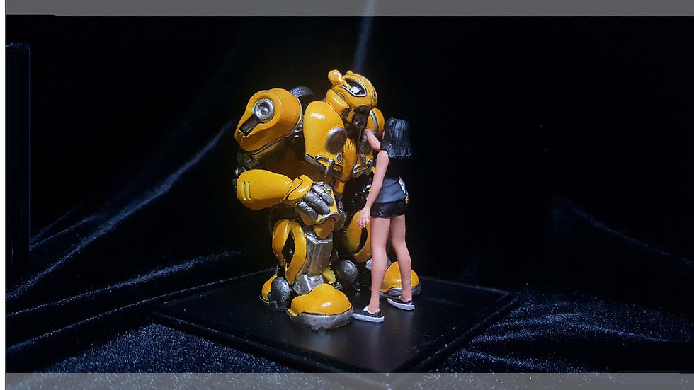 BUMBLEBEE MOVIE MODEL TRANSFORMERS FOR 3D PRINT