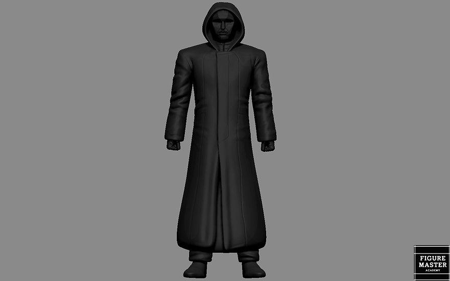 SQUID GAME MASK FRONT MAN NETFLIX 3D PRINT
