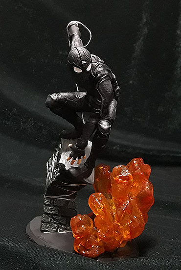 SPIDERMAN STEALTH SUIT MARVEL ANIME CHARACTER 3D PRINT STL FILE