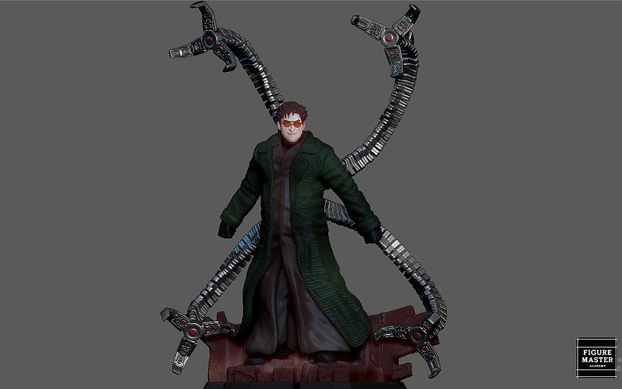 DOCTOR OCTOPUS SPIDERMAN NO WAY HOME MCU MARVEL DOC OCK STATUE 3D PRINT