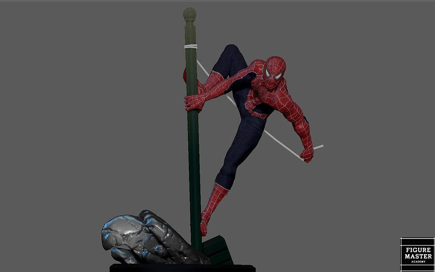 SPIDERMAN TOBEY MAGUIRE NO WAY HOME MCU MARVEL MOVIE STATUE 3D PRINT