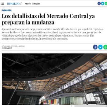 Los detallistas del Mercado Central ya p