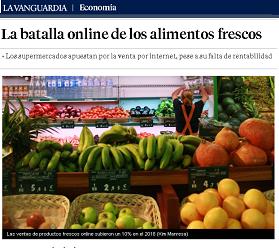 La batalla online de los alimentos fresc