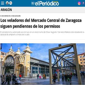 Los veladores del Mercado Central de Zar