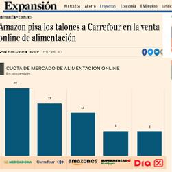 Amazon pisa los talones a Carrefour.png