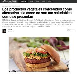 Los productos vegetales concebidos como