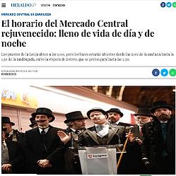 El horario del Mercado Central rejuvenec