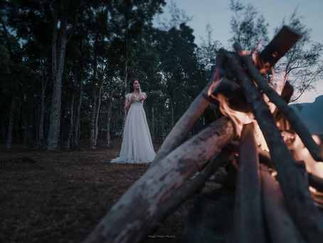 WildFire - Amazing Forest Wedding shoot