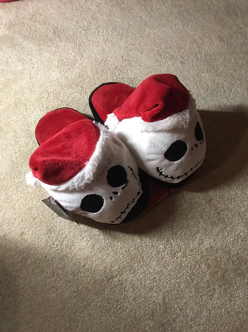 Tinightmare before Christmas Jack Head slippers