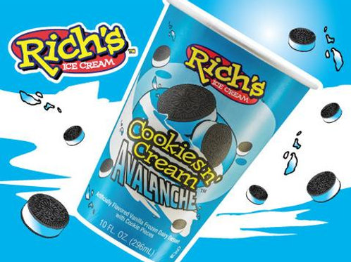 Avalanche Cookies & Cream Cup