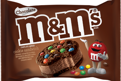 M&M's Chocolate Ice Cream Sandwich