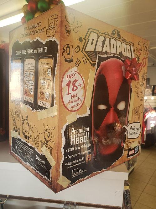 Deadpool - Marvel Deadpool Interactive Head - Hasbro, New, Factory Sealed