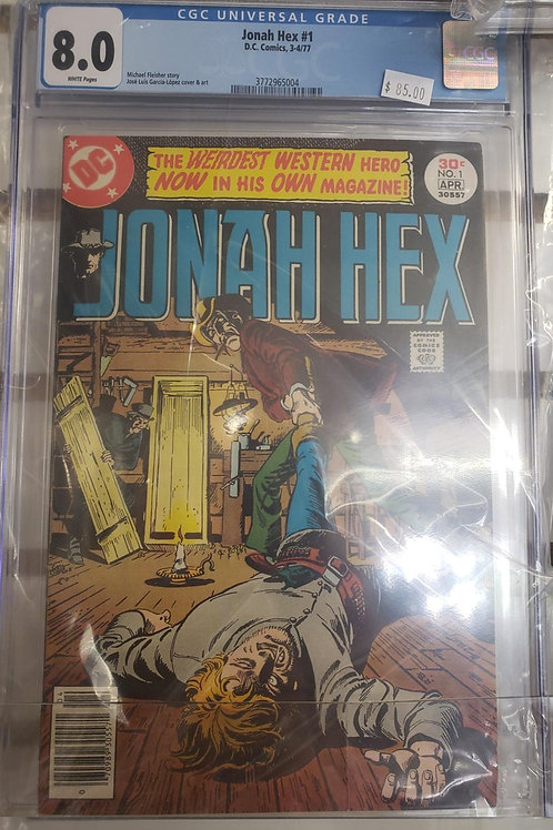 Jonah Hex #1 (DC Comics, 1977)  CGC 8.0 - Jose Luis Garcia-Lopez art