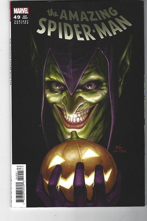 Amazing Spider-Man #49  (aka #850) Inhyuk Lee Green Goblin cover (1:25 variant)