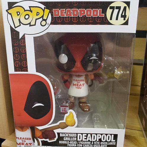 Deadpool (Backyard Griller) - Bobble-head Funko Pop Vinyl #774 - new, in box