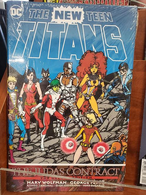 New Teen Titans - Judas Contact HC