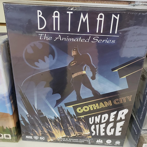 Batman: Gotham City Under Siege Board Game