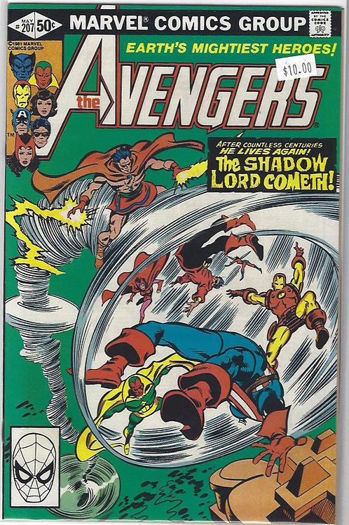 Avengers #207
