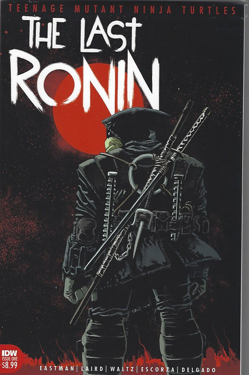 TMNT: The Last Ronin #1 (IDW) - First Printing - Eastman Laird, NM copy