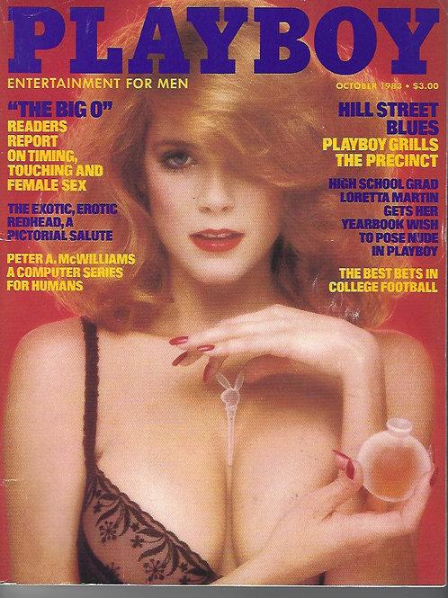 Playboy October 1983