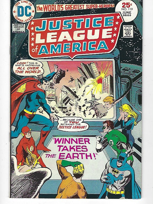 Justice League of America #119
