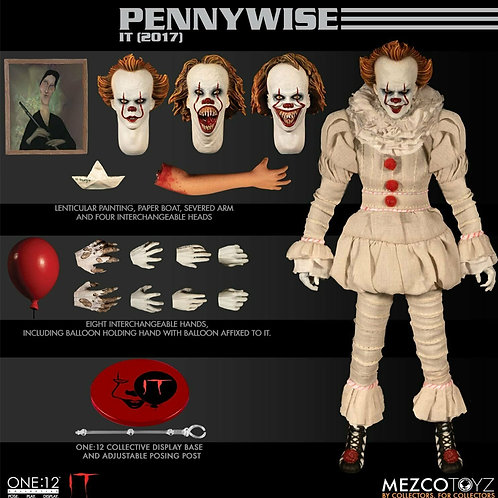 Pennywise - One: 12 Mezco Collectibles