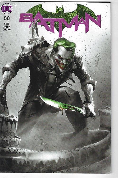 Batman #50 - (Joker / B & W Variant cover)