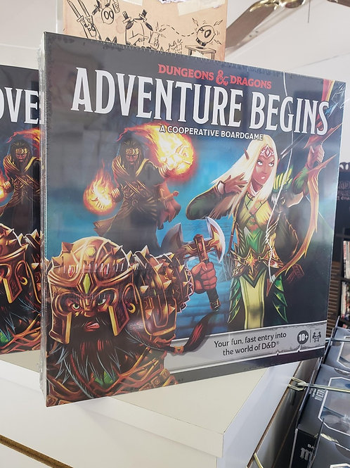 Dungeons & Dragons: The Adventure Begins Board Game