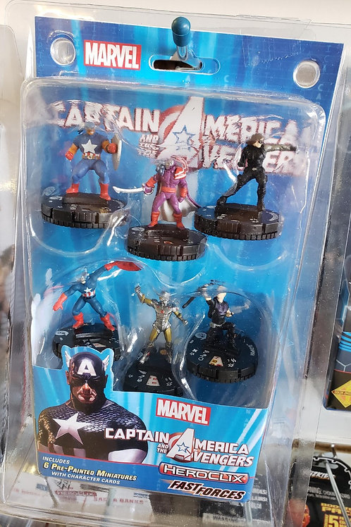 Heroclix - Capt. America / Avengers Fast Forces