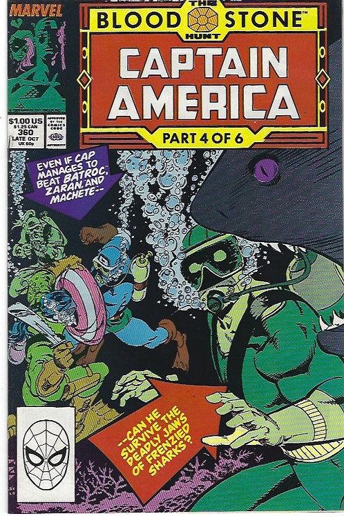 Captain America #360