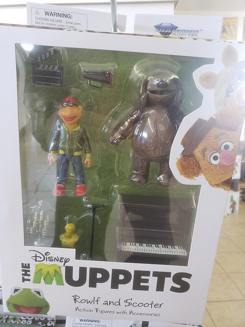 MUPPETS - Rowlf and Scooter (2021)