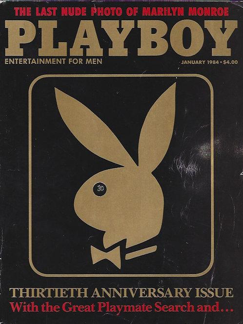 Playboy January 84