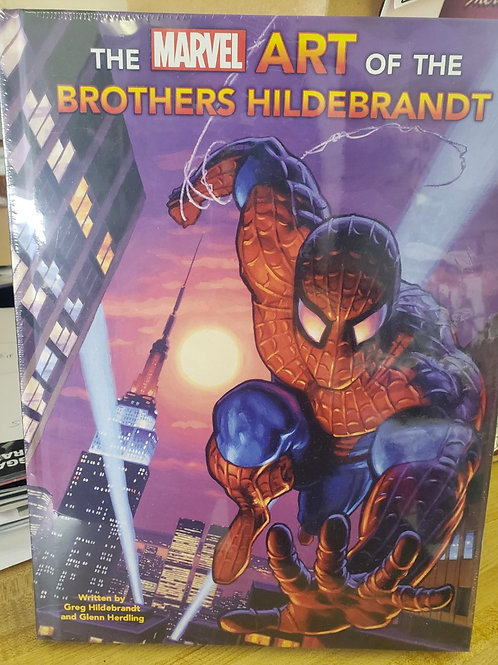 Hildebrandt - Marvel Art of the Brothers Hildebrandt (IDW Books) - Hardcover,new