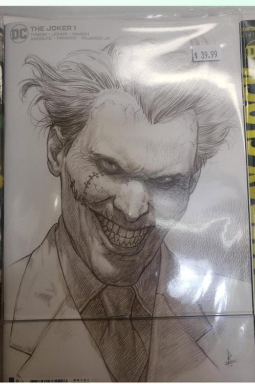 Joker #1 (DC Comics - 2021) Federici Sketch Cover 1:25 Variant