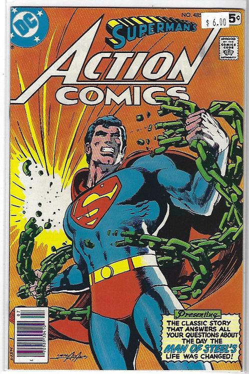 Action Comics #485