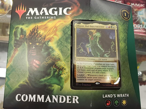 Magic the Gathering - Commander Land's Wrath