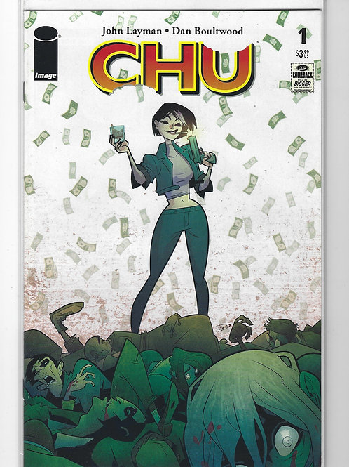 Chu #1 (Image Comics - July 2020)  NM, 1st printing - John Laymen, Dan Boultwood