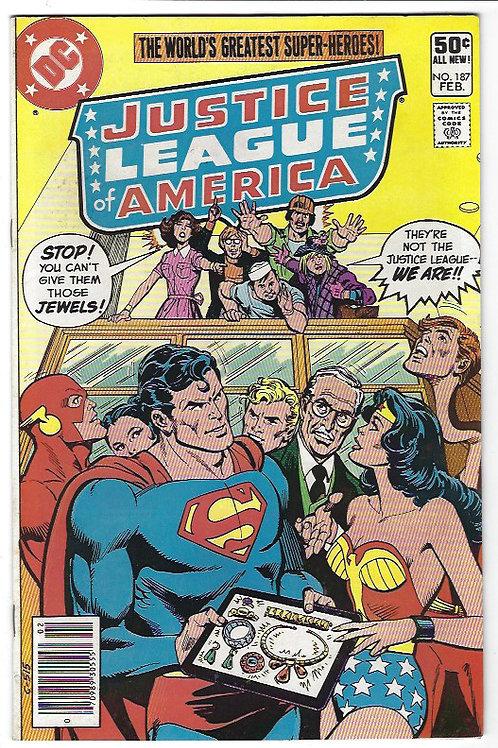 Justice League of America 187