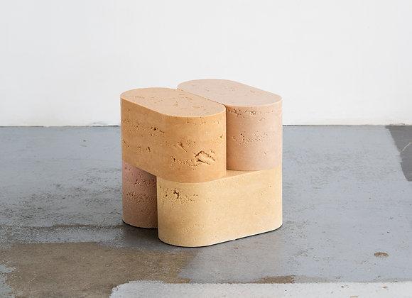 Four Blocks Side Table